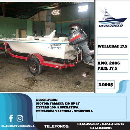 Lancha Wellcraf 17,5 Lv484