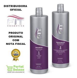 Kit Escova Progressiva Inteligente Fit Cosmetics