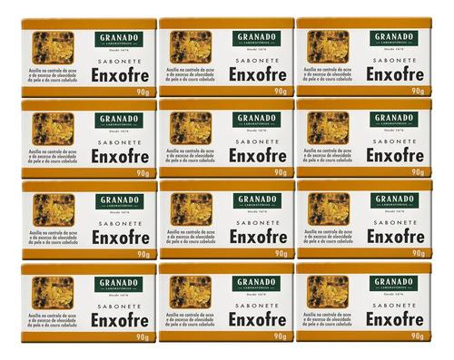 Sabonete Enxofre Para Acne 12 X 90g - Granado