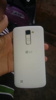 LG K10 Usado Tela Trincada E O Sensor Ta Ruim So Liga No Cla