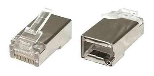 Conector De Metal Rj-45