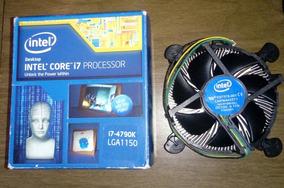 Caixa + Cooler Processador Core I7 4790k Lga 1150
