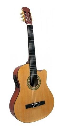 Guitarra Electroacustica Española  Cg209 Electro Acustica
