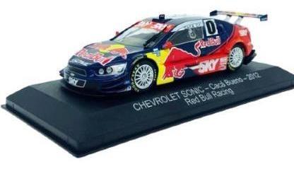 Imagem 1 de 7 de Coleção Miniatura Stock Car Chevrolet Sonic 2012- Cacá Bueno