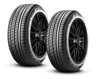 Paquete De 2 Llantas Pirelli P7 225/45r17 91w 18 Msi