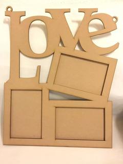 10 Portaretratos Love Foto 4*6pulgadad