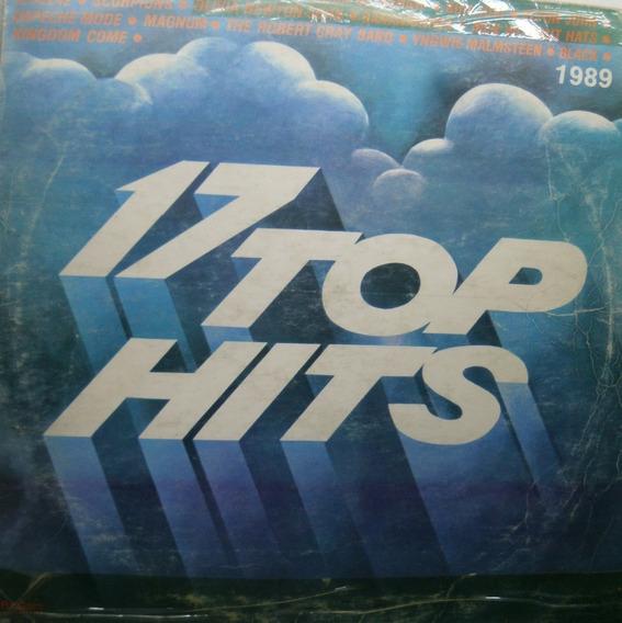 17 Top Hits 1989 Varios Internacionales Disco De Vinilo