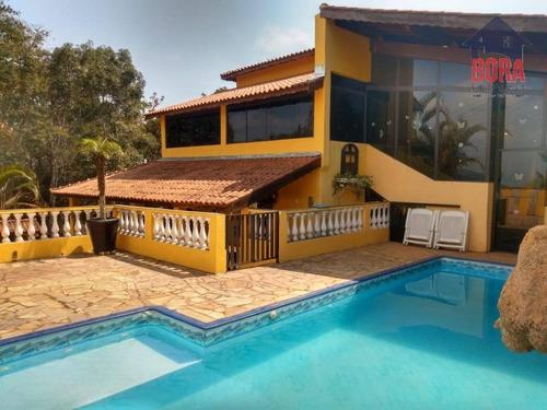 Chácara Com 5 Dormitórios À Venda, 2500 M² Por R$ 590.000,00 - Jardim João Henrique - Mairiporã/sp - Ch0323