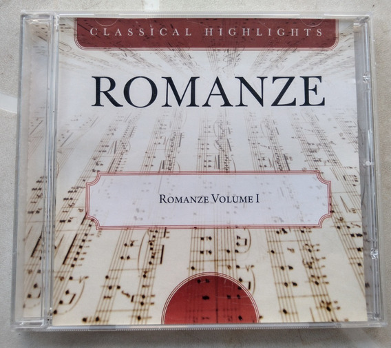 Cd Romanze Vol 1 - Classical Highlights