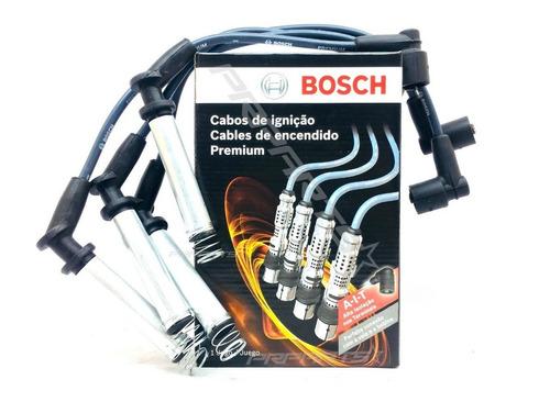 Imagem 1 de 7 de Jogo Cabos De Velas Bosch Corsa Pick Up 1.6 8v Gasolina 1996
