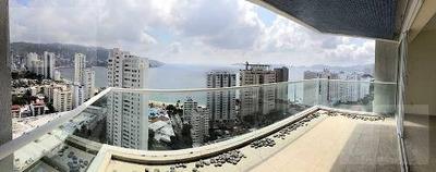 Cad Acqualina 2301. Terraza Con Vista A La Bahía De Santa Lucía. Acapulco Dorado
