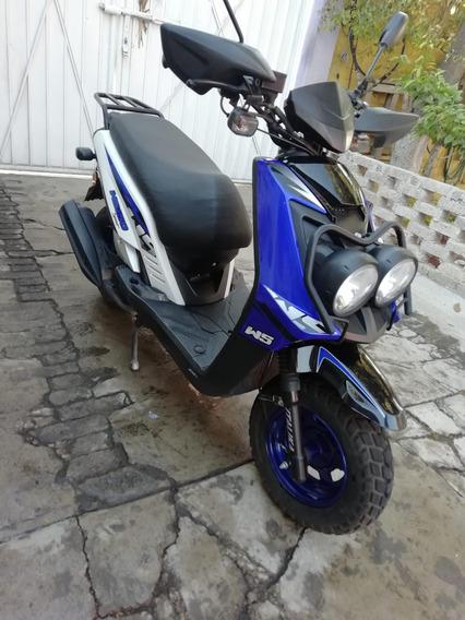 Motoneta Scooter Ws150 Azul