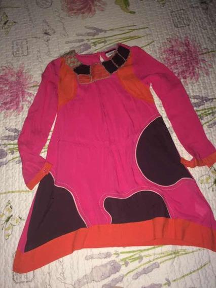Vestido Para Niña Umbralle Kids Talla 10s. (7*d)