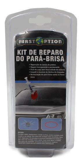 Kit Completo Reparador De Parabrisa Vidro Trincado