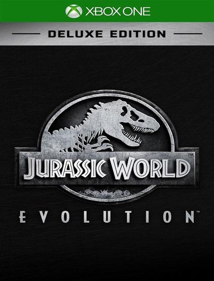Jurassic World Deluxe Xbox One - Envio Rápido (25 Díg.)