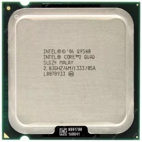 Processador Intel Core 2 Quad Q9500 2,83ghz Socket 775 +past