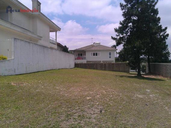 Terreno Residencial À Venda, Residencial Morada Dos Lagos, Barueri. - Te0173