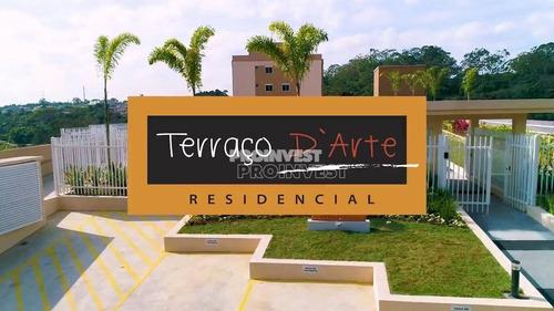 Apartamento Garden Com 3 Dorms Sendo 1 Suíte À Venda, Condomínio Terraço D´arte - Jardim Torino - Cotia/sp - Ap4894
