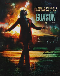 Joker Guason Dc Joaquin Phoenix Pelicula Blu-ray
