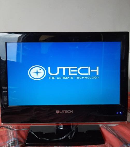Tv Monitor Utech, Viene Con Control. 50v