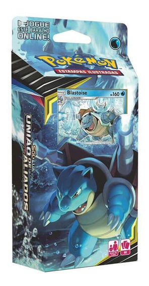 Deck Sol E Lua 9 Canhão Torrencial Blastoise Pokémon Cards