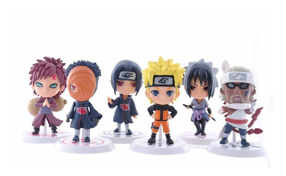 Super Figura Naruto Shippuden Itachi Gaara Obito Envio Grati