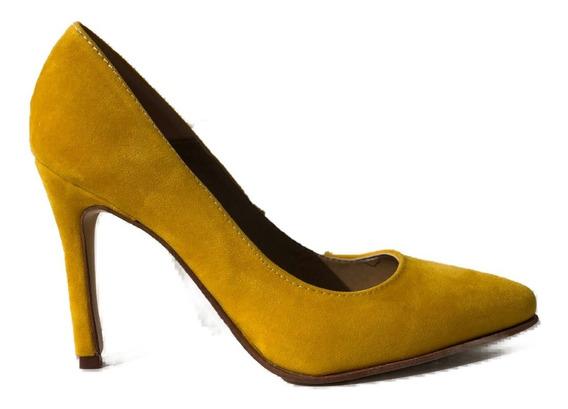 Stilettos Mujer Luis Xv Gamuza De Calzadosoher