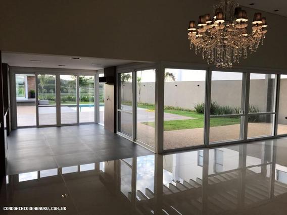 Casa Em Condomínio Para Venda Em Bauru, Residencial Lago Sul, 4 Dormitórios, 4 Suítes, 7 Banheiros, 3 Vagas - 274