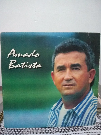Lp Amado Batista 1995 Tum Tum De Saudade Com Encarte