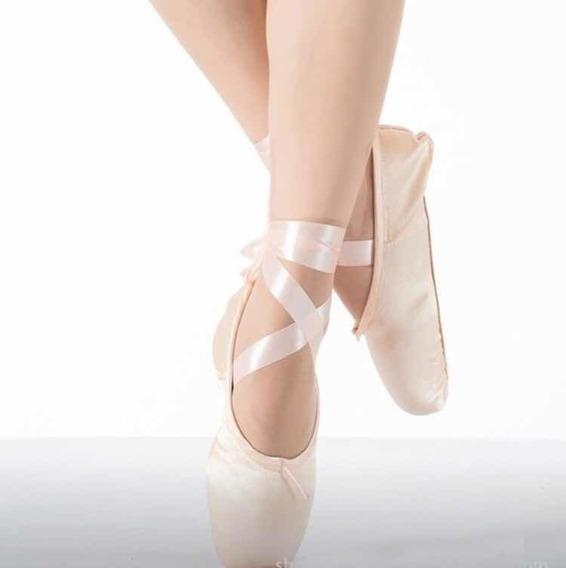 Zapatilla De Ballet De Punta Andazza (regalo Incluido )