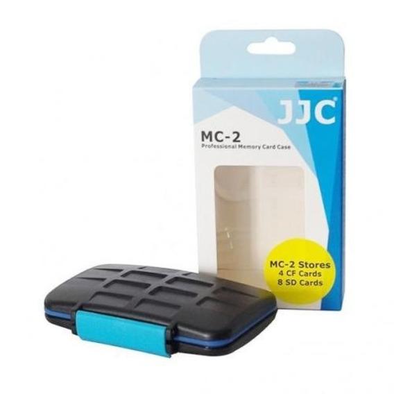 Porta Cartões De Memória Rígido Impermeável Jjc Mc-2