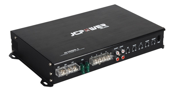 Amplificador Jc Power Jc1000.1 1000w Max 1 Canal Clase D
