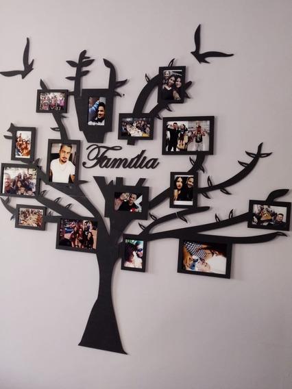 Arvore Painel De Fotos Mdf Decoração Presente Dia Dos Pais