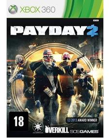 Payday 2 Xbox 360 Desbloqueado Lt 3.0