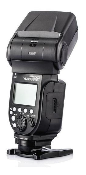 Flash Yongnuo Yn968ex Rt E-ttl Ttl P Nikon Com Led Auxiliar