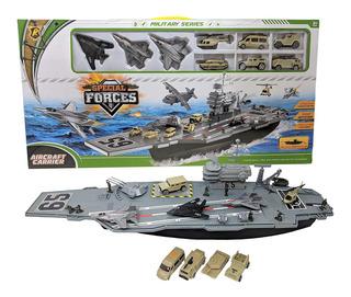 Barco Militar Naval Porta Aviones Special Force Accesorios