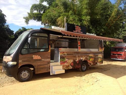 Food Truck Microonibus  (montagem Sem O Veículo)