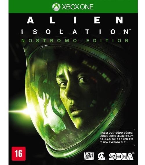 Alien Isolation Nostromo Edition Xbox One Novo Nota Fiscal