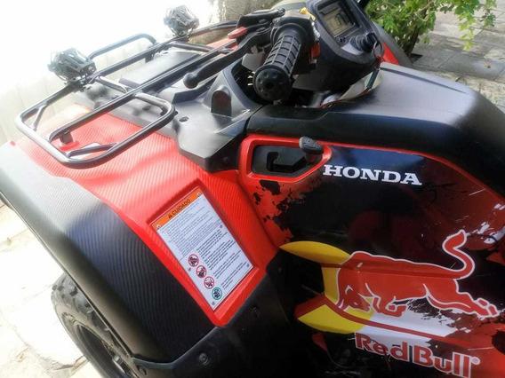 Quadriciclo Honda Fourtrax Trx 4x4 420 Cc -ano