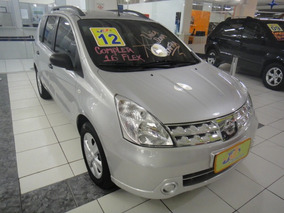Nissan Livina 1.6 Night & Day Flex Completo Couro Rodas 2012