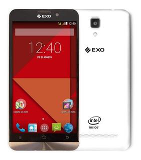 Celular Exo Liberado 8gb Smartphone Blanco Doble Chip Oferta