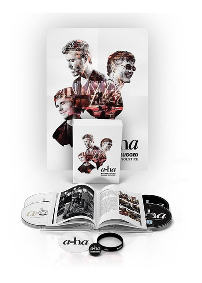 A-ha - Mtv Unplugged Summer Solstice Ltd. Fanbox [cd+dvd+bd]