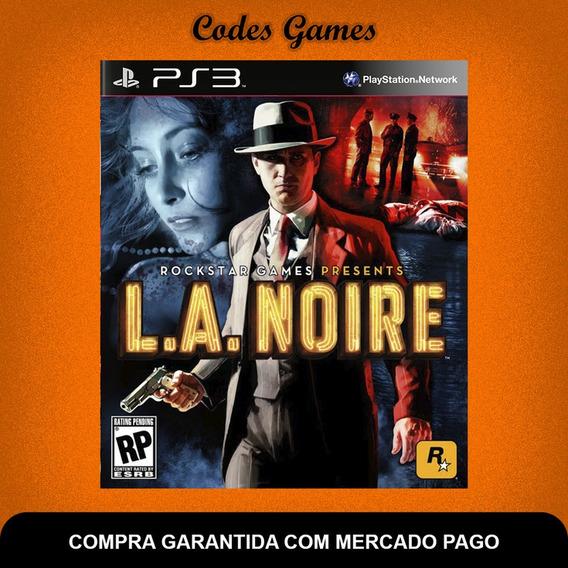 L.a. Noire - Ps3 - Pronta Entrega