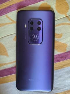 Moto One Zoom Violeta Novo - Qualidade De Fotos Incríveis