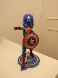 Lote Captain America Y Thor Head-knockers Neca Avengers