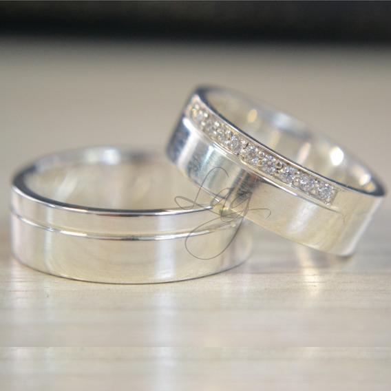 Alianças De Prata 950 Compromisso E Namoro Dia Dos Namorado