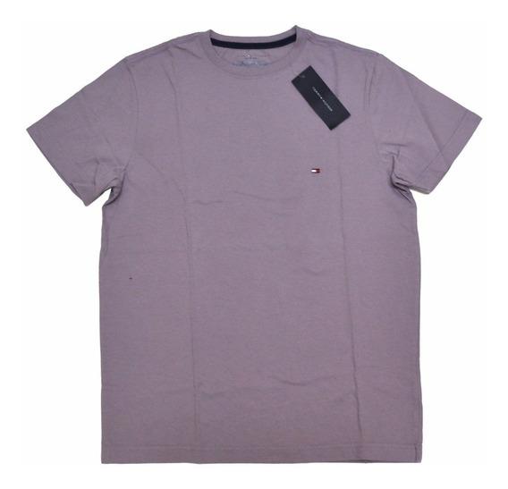 Camiseta Básica Tommy Hilfiger Tamanho M Original Algodão