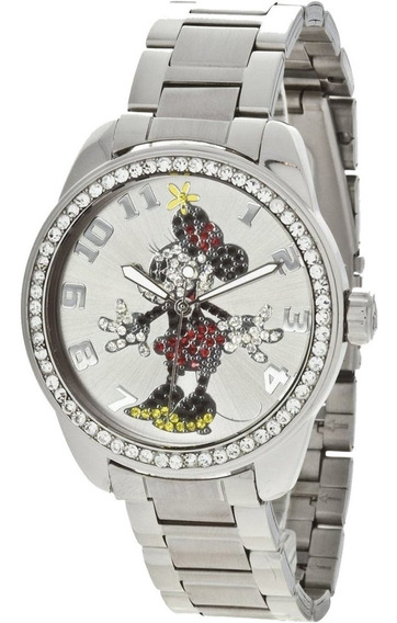 Reloj Disney Ingresoll Minnie Mouse Color Plata