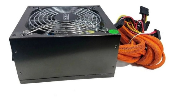 Fuente Alimentación Pc Atx 650w Luces Led 600w Mexx 3