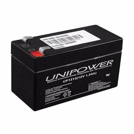 Bateria Selada 12v 1.3 A Recarregável Unipower P/ Nobreaks